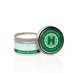 Cabin in the Woods Soy Candle Tin