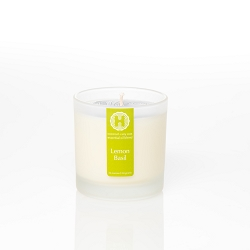 Lemon Basil Frosted Jar Candle