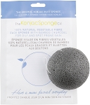 Black Konjac Sponge with Bamboo Charcoal