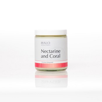 Nectarine and Coral Soy Jar Candle