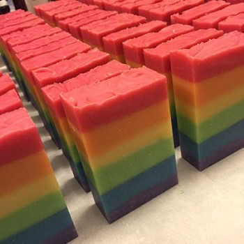 Rainbow Soap 2018 AVAILABLE AFTER JUNE 1ST